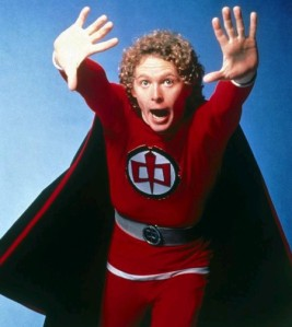el super héroe americano